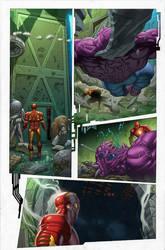 Marvel Now Iron Man 9 pg2 by GURU-eFX