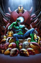 Iron Man 15 cover by GURU-eFX