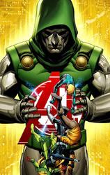 Avengers A.I. 4 cover by GURU-eFX