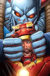 Iron Man issue 14 cover by GURU-eFX