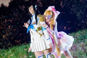 KLK - Satsuki and Nui by Itasil