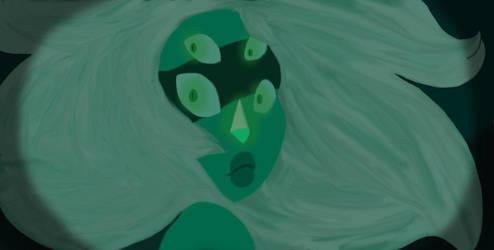 Malachite (Steven Universe Screencap Redraw) by amywolf45