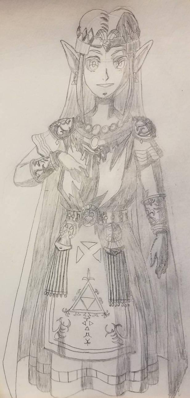 Link to the Past Zelda (WIP) by ximeremix