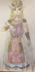 Link to the Past Zelda  by ximeremix
