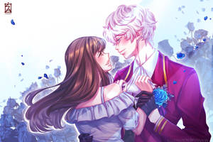 Mystic Messenger: MC x Ray by Soverrein
