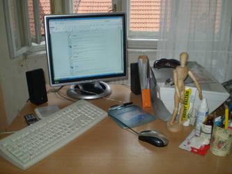 My worktable by Elanka