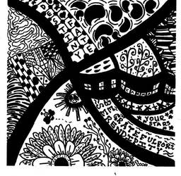 Serendipity Zentangle by gwenny415