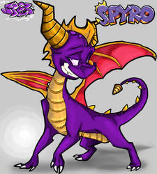 WHOLEH CANOLI ITS SPYRO D: by Spyroflamesredsbum
