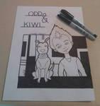 Odd N Kiwi by Zalivka