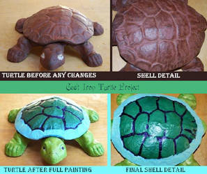 Cast Iron Turtle by DruidElf