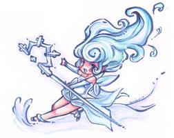 Moony Snow Fairy chibi by Petshop17