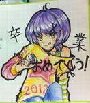 Graduation Message in Japan by Petshop17