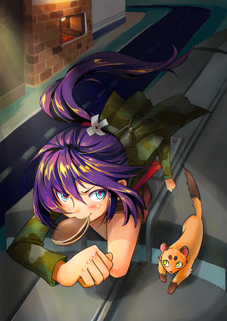 Dorayaki Girl by Petshop17