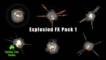 Explosion FX Pack 1 by FightingIrishStudios