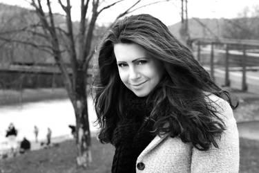My portrait -  March 2013 by weronicamc