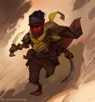 Goblin Hero by jeffreylai