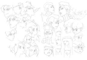 Doodles by jeffreylai