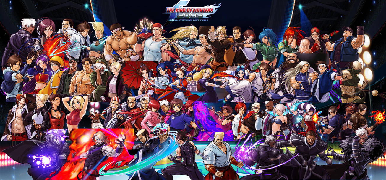 Kof 2002 Unlimited Match Wallpaper By Yoink13 On Deviantart