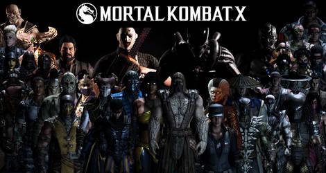 Mortal Kombat XL Komplete Roster Wallpaper by yoink13