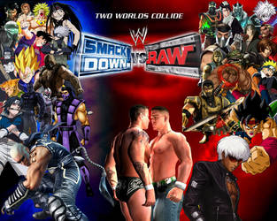 WWE SmackDown! vs. RAW Special Roster by yoink13