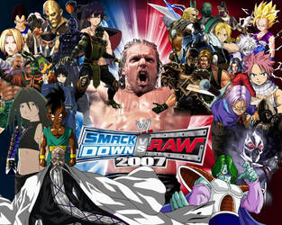 WWE SmackDown! vs. RAW 2007 Special Roster by yoink13