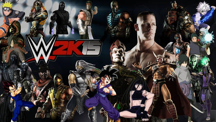 WWE 2K15 Special Roster by yoink13