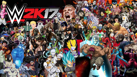 WWE 2K17 Special Roster by yoink13