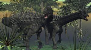The Mighty Ampelosaurus by TeddyBlackBear2040