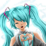 Miku Love by thei-chan
