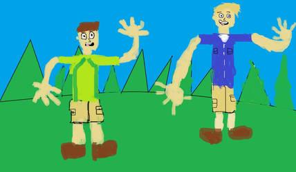 The Kratt Brothers by magiccheynne02321