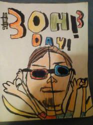 #3OH!3 DAY 2017 by magiccheynne02321