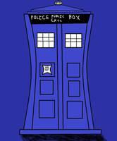 TARDIS (Digital Art Shaded Version) by magiccheynne02321