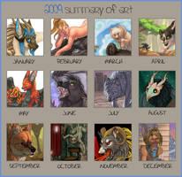 2009 Art Summary by KatieHofgard