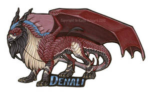 Denali Badge by KatieHofgard