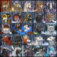 Winter Icons 2 by KatieHofgard