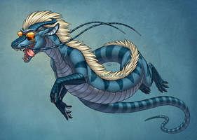 Racing Stripes by KatieHofgard