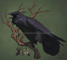 Raven Calling by KatieHofgard