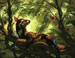 Basking in the Canopy by KatieHofgard