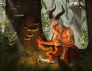 Forest Healer by KatieHofgard