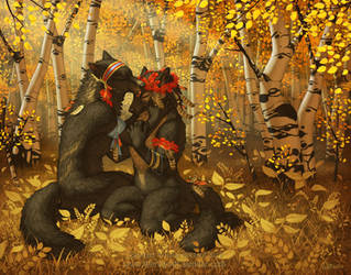 Autumn's Blessing by KatieHofgard