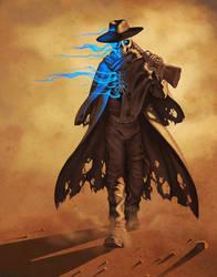 Gunslinger by KatieHofgard
