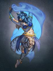 Sapphire Dance by KatieHofgard