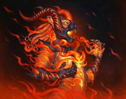 Flame Thrall by KatieHofgard