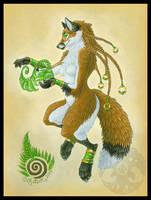 Fern Fox by KatieHofgard