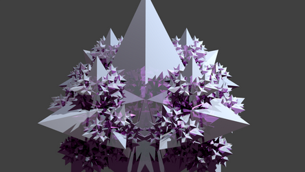 iterated 3D mesh - Spikes - MetalIFS v0.26 by ABlipinTime