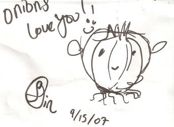 Onions love you, Hushicho by sincerity07