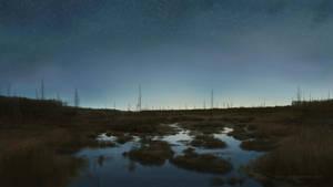 Landscape #3 (iPad art) by S-Lebedev