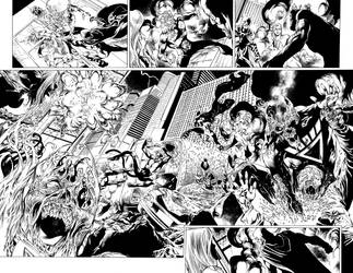 Blackest Night JSA 01 pages 08-09 by julioferreira
