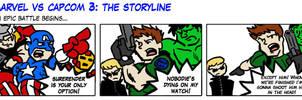 MVC The Storline: BattleBegins by Raax-theIceWarrior