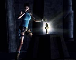 Tomb Raider Ankh Key by Halli-well